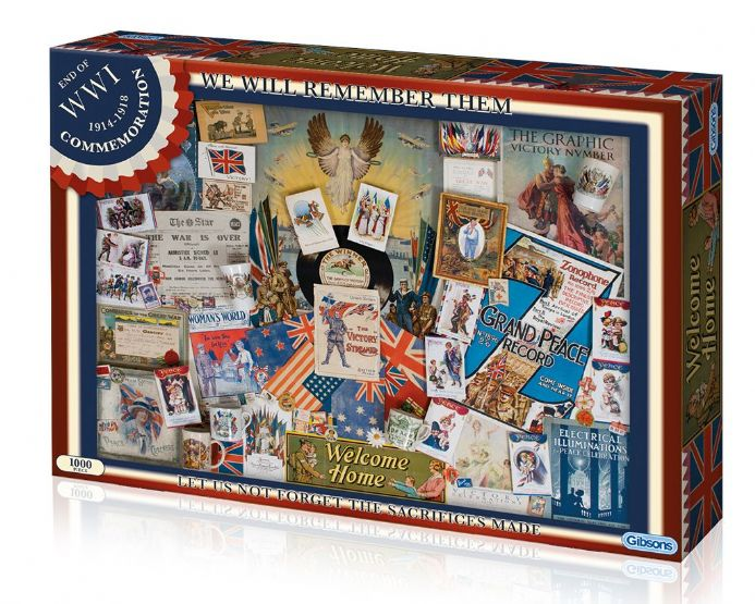World War One Commemoration - Jigsaw Puzzle (1000 pieces)